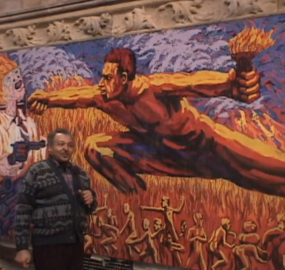 Church of the Advocate mural screenshot