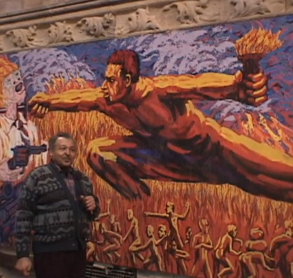 Church of the Advocate mural screenshot